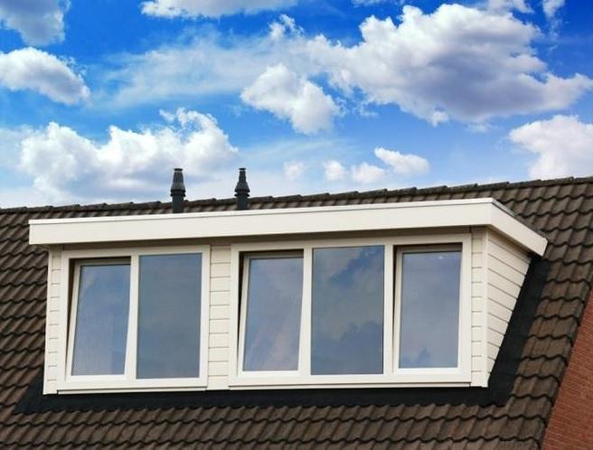 daken en dakkapel